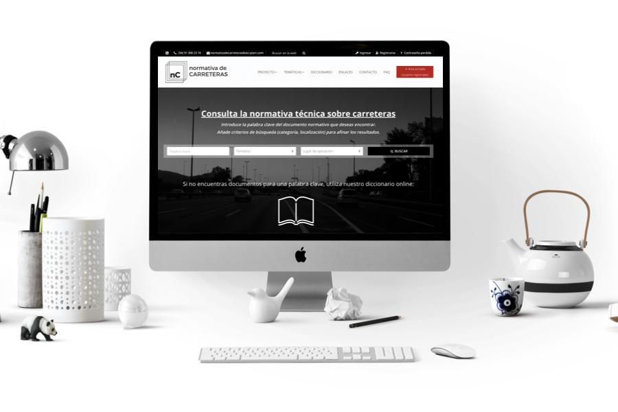 ITAFEC desarrolla la nueva web de la ATC sobre legislación y normativa de carretera